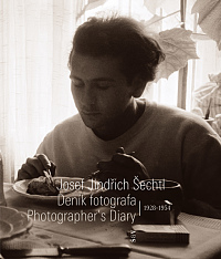 Front cover of book Josef Jindřich Šechtl: Photographer's Diary, 1928–1954